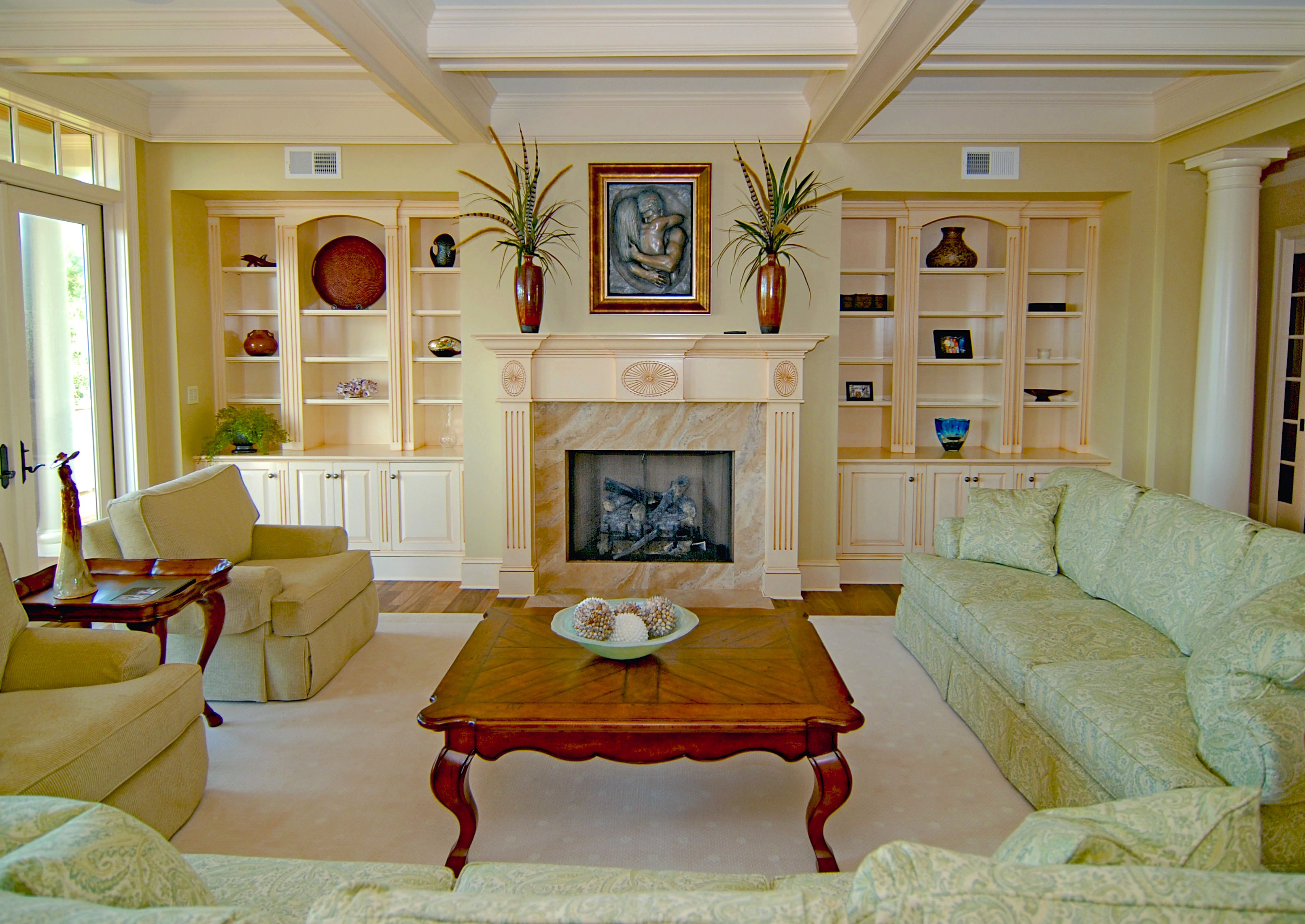Interior gallery of custom built homes on kiawah johns for Aleso3d interior 026 lounge room
